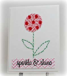 Simply Elegant Paper Crafts blog; Neat & Tangled sequins and stamps