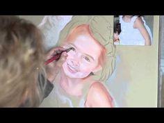Pastel Portrait process - YouTube