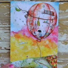 Kuumailmapallon kortti | Weecos