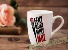 Eeny Meeny Miny Moe, Negan Coffee Mug, The Walking Dead Mug, Negan Quote Mug, Lucille Cup, The Walking Dead Cup, TWD Coffee Mug, TWD TV Show