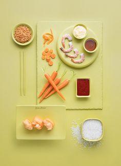 The Art Of Fusion - Food Photography on Behance Sushi Dishes, Food Menu Design, Dark Food Photography, Fusion Food, Creative Food, Food Styling, Food Art, Food Inspiration, Love Food
