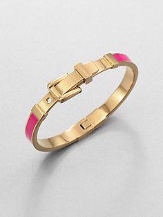 Michael Kors Buckle Bangle Bracelet