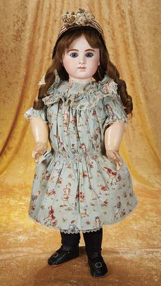 The Empress and the Child - Antique Dolls: 31 Wonderful French Bisque Bebe Attributed to Joanny