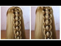 Tuto coiffure simple et rapide ♡ facile à faire soi même ♡ cheveux long / mi long - YouTube