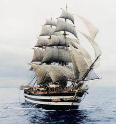 "a beautiful ship the ""Amerigo Vespucci"",,,"