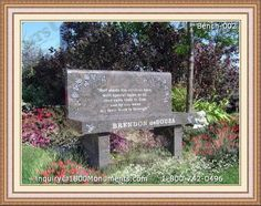 stone garden benches for sale headstone benches pinterest