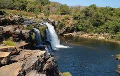 Cachoeira Grande na Serra do Cipó, MG.
