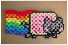 Nyan cat peler bead