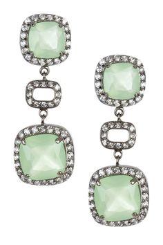 amazonite earrings by Adam Marc
