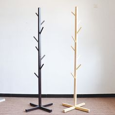 Source Hot Sale Wooden DIY Coat Rack Stand Ecofriendly Home Furniture Clothes Hanging Tree Shaped Coat Rack on Best Clothes Hangers, Clothes Hanger Rack, Diy Clothes Stand, Hanging Clothes, Diy Coat Rack, Coat Racks, Standing Coat Rack, Coat Stands, Wooden Diy