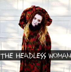 Halloween Costume DIY: The Headless Woman.  This is a fun costume that will make you the hit of the Halloween party. | The TipToe Fairy #halloweenDIYcostume #tutorial