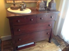 Chest; dimensions: 43.5 in wide, 21 in deep, 42.5 in tall