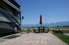 Polson Motorcoach and RV Resort - Check out those views! Located in Montana and a top luxury RV Resort. Enjoy majestic views, great RV sites, class A accommodations and amazing drives to Glacier Park. This is the ideal place to stay if you're planning on RVing to this beautiful state!