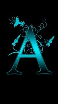 A Alphabet Wallpaper For Mobile | Wallpapers for Mobile | Pinterest