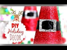DIY Christmas Decorations ❄ Cute Holiday Room Decor - How to make Slime, Show Your Crafts and DIY Projects. Diy Christmas Decorations, Diy Christmas Ornaments, Room Decorations, Christmas Room, Noel Christmas, Simple Christmas, Navidad Simple, Navidad Diy, Cute Diy Projects