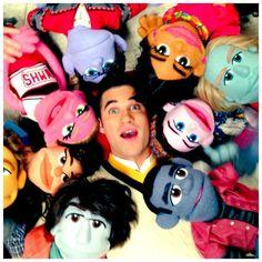 Ryan Murphy twitter:  Blaine and friends.