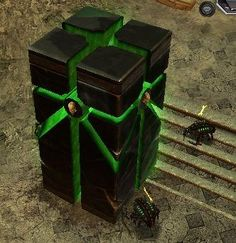 Necron architecture and Tombs - Forum Warhammer 40k Necrons, Warhammer Terrain, 40k Terrain, Wargaming Terrain, Dungeons And Dragons Miniatures, Monster Concept Art, Fantasy Castle, Environment Concept, Decoration