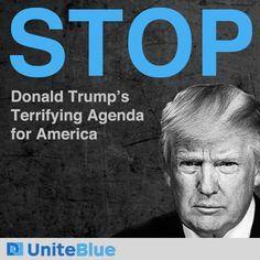 UniteBlue @UniteBlue  40m40    Stand with #UniteBlue Against the Trump Agenda & #KremlinCohorts https://actionnetwork.org/petitions/stand-with-uniteblue-against-the-trump-agenda?source=uniteblue … #Resistance #DemForce