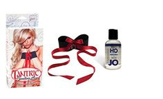 Bundle Package Of Tantric Binding Love Universal Cuffs And JO H20 4.5oz.