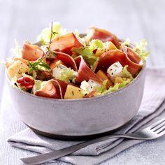 Salade, melon, fromage de brebis & jambon de Bayonne | Delpeyrat
