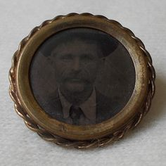 Vintage Victorian Daper Man Celluloid Mourning by BriarVintage, $50.00