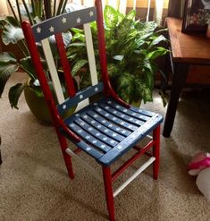 40 Top Diy Painted Chair Designs Ideas Try - Eddging - Chair Design Old Chairs, Vintage Chairs, Outdoor Chairs, Adirondack Chairs, Cafe Chairs, Black Chairs, High Chairs, Dining Chairs, Yellow Chairs