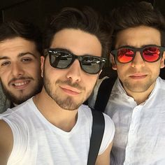 #Repost from @fede_stylist with @ig_saveapp. Fitting For American Special TV! @armani @gianginoble11 @barone_piero @ignazioboschetto  @ilvolomusic #stylingilvolobyme