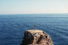 To the horizon