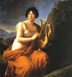 Madame de Stael as Corinne (1808-09) - Marie Louise Élisabeth Vigée Lebrun