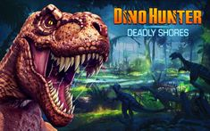 Dino Hunter: Deadly Shores: Seja a caça ou o caçador! Embarque em uma incrível expedição de caça em Dino Hunter: Deadly Shores para Android, baixe agora!
