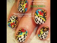 robin moses anthropologie inspired nail art design tutorial 584