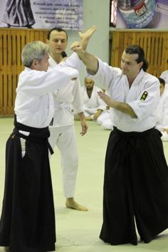 Yasunari Kitaura Sensei. Aikido Aikikai Seminar 17-19 December 2010, Tashkent Img 2