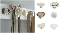 appendiabiti-fiore-ceramica-fai-da-te-con-pomelli Pomellato, E Design, Bathroom Hooks, Door Handles, Objects, Handmade, Diy, House, Home Decor