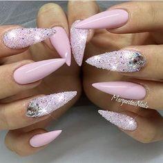Sparkly nails @margaritasnailz #FCnails