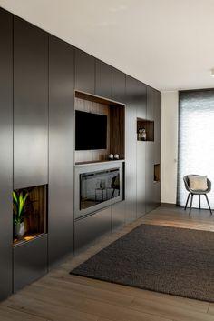 living room ideas – New Ideas Living Room Tv Unit Designs, Bedroom Cupboard Designs, Bedroom Closet Design, Tv In Bedroom, Home Room Design, Home Interior Design, Wall Cupboards, Tv Cabinets, Closet Con Tv