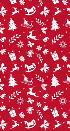 Red and white Christmas pattern wallpaper Tumblr Iphone Wallpaper, Christmas Phone Wallpaper, Holiday Wallpaper, Winter Wallpaper, Red Wallpaper, Paper Wallpaper, Iphone Wallpapers, Nice Wallpapers, December Wallpaper