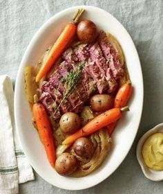 <p>Classic Slow-Cooker Corned Beef and Cabbage</p>