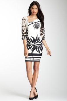 Analili sheer sleeves dress $86 on hautelook