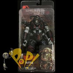 """Gears of Wars 2 BOOMER MAULER Series 6 Action Figure NECA 7"""" Player Select!"""