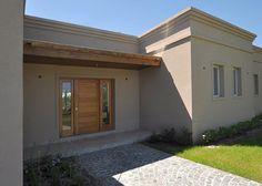 Flat Roof House Designs, Santa Fe Home, Balcony Railing Design, House Elevation, Architect House, Home Wallpaper, House Colors, My Dream Home, Exterior Design