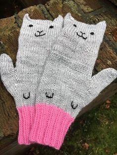 Ravelry: Hey Meow! pattern by Renée Kies knit in DK weight yarn