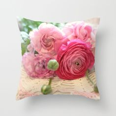 Daydreams... Throw Pillow Cover by Lisa Argyropoulos (pillow insert available for purchase)
