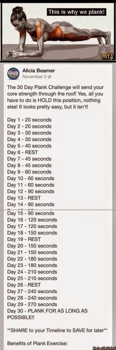 I FINISHED THE 30 DAY PLANK CHALLENGE!! I saw so many improvements in myself that I wasn't expecting, and I learned a few things about mysel...