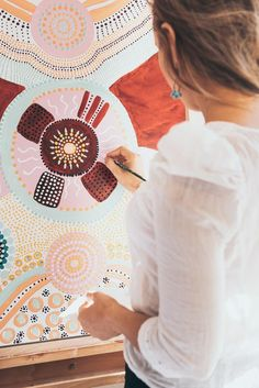 Art N Craft, Diy Art, Aboriginal Artwork, Framed Prints, Canvas Prints, Australian Art, Indigenous Art, Hand Painting Art, Whimsical Art