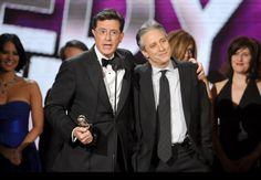 Colbert and Stewart - So much funny in one place!