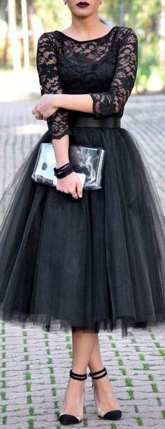 All Black | Street Fashion ❤︎
