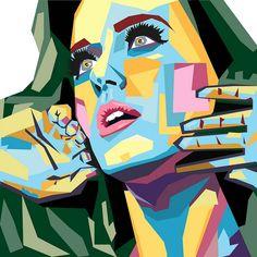 Katy Perry - pop art