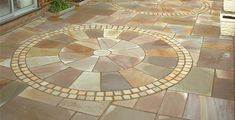 Paving Circular | Light Bronte Circular Paving Kit | Products | Bannold.co.uk