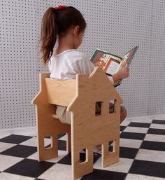 Its a chair! Its a dollhouse! Its genius!