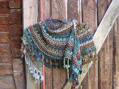 Crochet Noro shawl 1 by yarn jungle, via Flickr